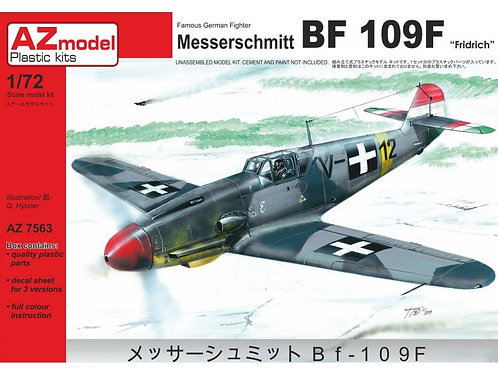 AZ Model - Messerschmitt Bf-109F-4 Hungarian Air Force 1/72