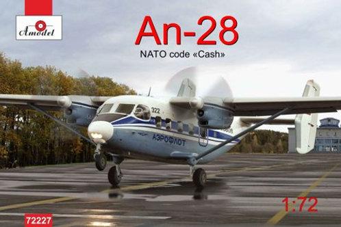 "Amodel - Antonov An-28 NATO Code ""Cash"" Aeroflot"