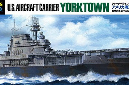 Tamiya - US Aircraft Carrier Yorktown (CV-5) 1/700