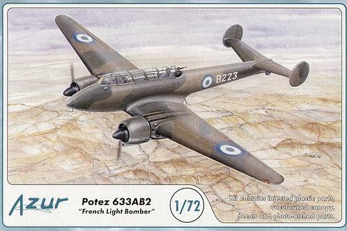 Azur - Potez 633AB2 French Light Bomber 1/72