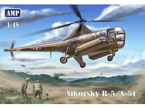 AMP - Sikorsky R-5/S-51 USAF Rescue 1/48