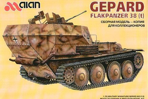 Alan - German Gepard Flakpanzer 38(t) 1/35