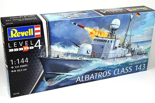 Revell - Fast Attack Craft Albatros Class 143 1/144