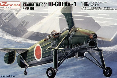 AZ Model - Kayaba 'Ka-Go' Model 1' Autogiro 1/48