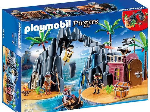 Playmobil 6679 Pirates - Pirate Treasure Island