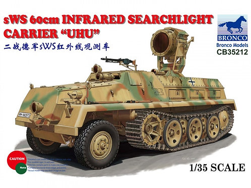 Bronco - sWS 60cm Infrared Searchlight Carrier