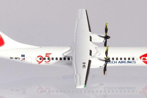 "Herpa - ATR-72 CSA Czech Airlines ""95 Years"" OK-NFU 1/500"