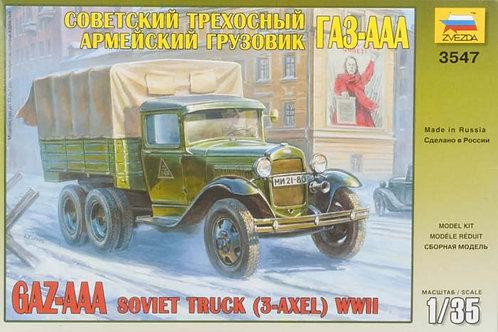 Zvezda - Soviet Military Truck GAZ-AAA 1/35