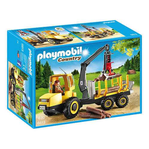 Playmobil 6813 Country - Timber Transport with Crane