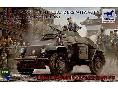 Bronco - Sd.Kfz.221 Leichte Panzerspähwagen 1/35