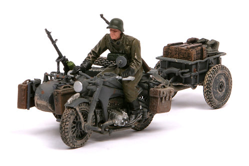 Forces of Valor - German Zündapp KS 750 Sidecar 1/32