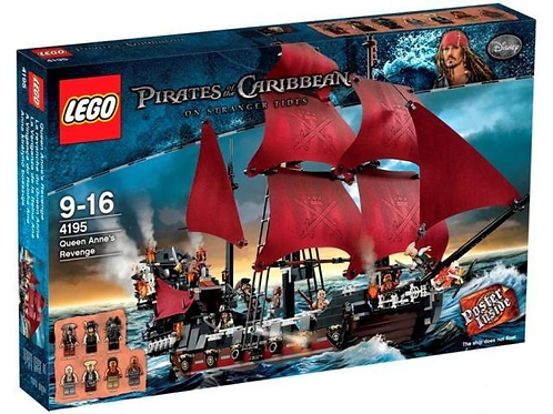 Lego 4195 Pirates of the Caribbean - Queen Anne's Revenge