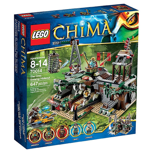 Lego 70014 Legends Of Chima - The Croc Swamp Hideout