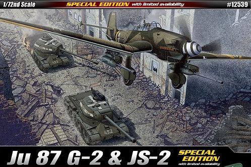 Academy - Ju87G-2 Stuka & JS-2 Soviet Tank 1/72