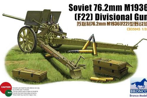 Bronco - Soviet 76.2mm M1936 (F22) Divisional Gun