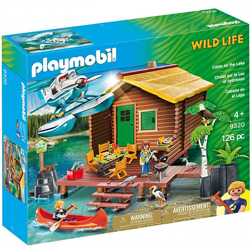 Playmobil 9320 Wild Life - Cabin on the Lake