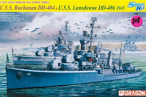 Dragon - USS Buchanan DD-484 & USS Lansdowne DD-48
