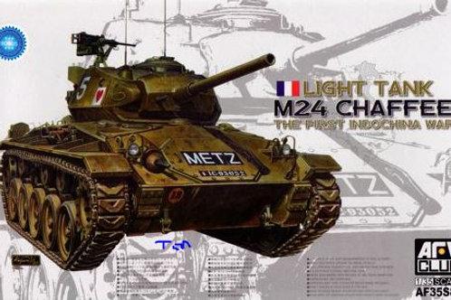 AFV Club - M24 Chaffee Light Tank French Army 1/35