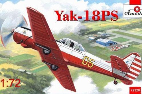 Amodel - Yakovlev Yak-18PS Aerobatic Aircraft 1/72