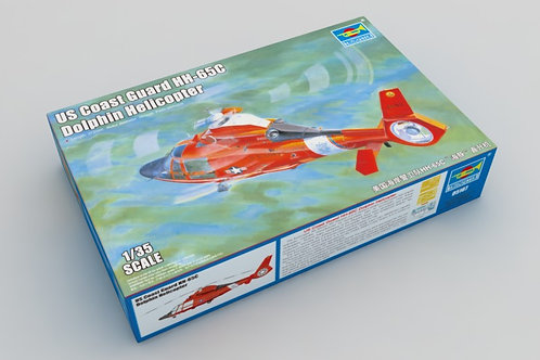 Trumpeter - US Coast Guard HH-65C Dolphin Helicopter 1/32