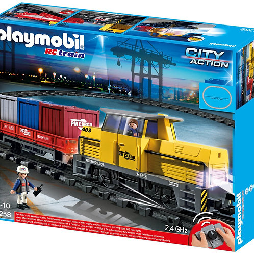 Playmobil 5258 - Remote Control Freight Train