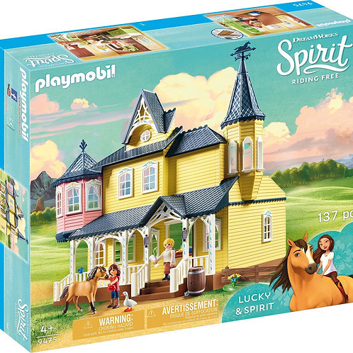 Playmobil 9475 Spirit - Lucky's Happy Home