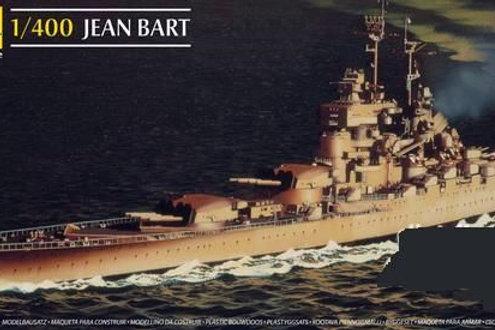 Heller - French Battleship Jean Bart 1/400