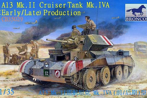 Bronco - A13 Mk.II Cruiser Tank Mk.IVA 1/35