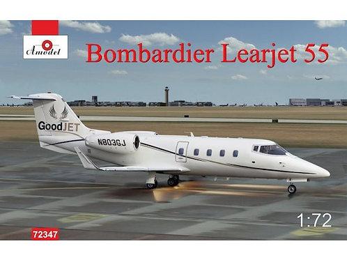 Amodel - Bombardier Learjet 55 1/72