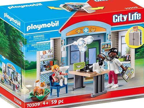 Playmobil 70309 City Life - Spielbox Beim Tierarzt