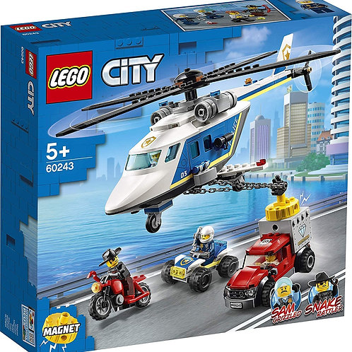 Lego 60243 City - Police Chase with Helicopter