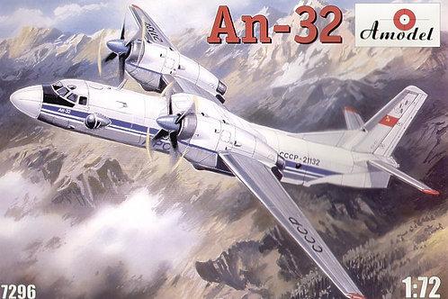 Amodel - Antonov An-32 1/72