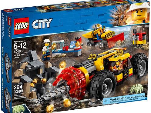Lego 60186 City - Mining Heavy Driller