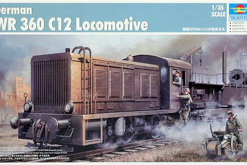 Trumpeter - German WR 360 C12 Locomotive 1/35