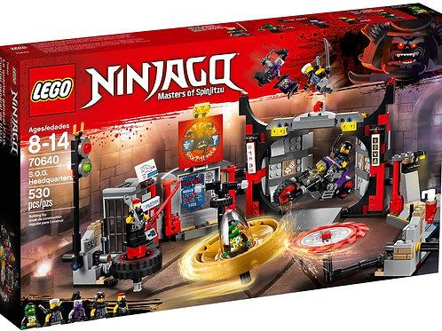 Lego 70640 Ninjago - S.O.G. Headquarters
