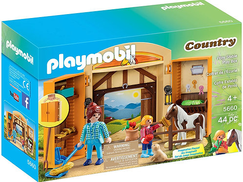 Playmobil 5660 Country - Pony Stable Play Box