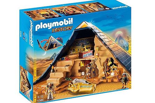 Playmobil 5386 History - Egyptian Pyramid of Pharaoh