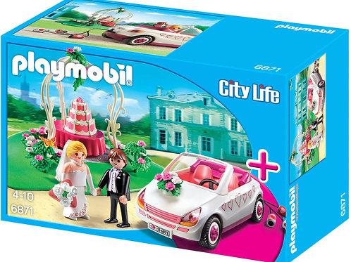 Playmobil 6871 - Wedding Tent with Car