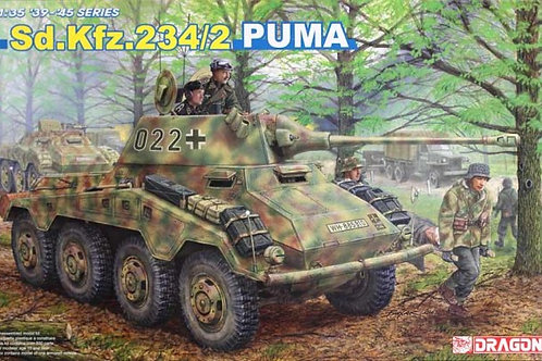 Dragon - German Sd.Kfz.234/2 Puma 1/35