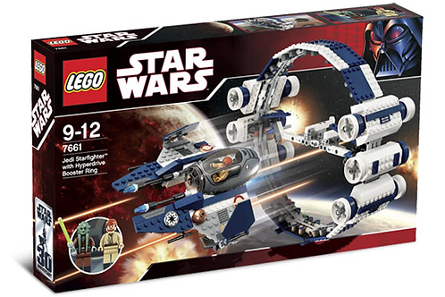 Lego 7661 Star Wars - Jedi Starfighter With Hyperdrive Boost