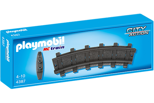 Playmobil 4387 City Action - RC Train 2 Curved Tracks
