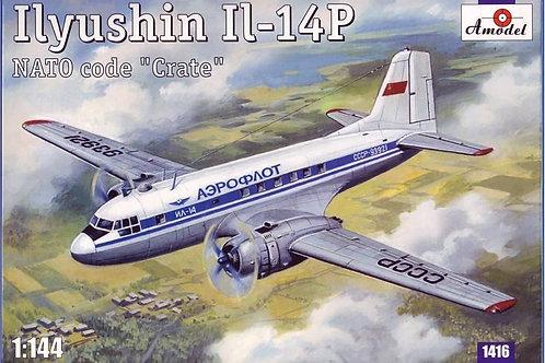 """Amodel - Ilyushin Il-14P NATO Code """"Crate"""" 1/144"""