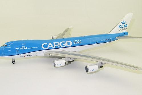 """Inflight 200 - Boeing B747-400F KLM Cargo """"100 years anniversary"""" PH-CKB 1/200"""