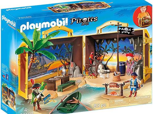 Playmobil 70150 Pirates - Island with Pirates