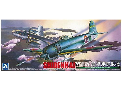Aoshima - Shidenkai Kawanishi N1K2-Ja w/Rocket Launcher 1/72