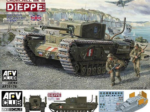 AFV Club - British Churchill Mk.III Dieppe Raid