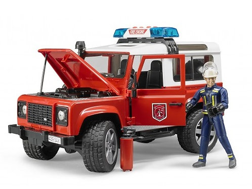 Bruder 02596 - Land Rover Defender Station Wagon Fire 1/16