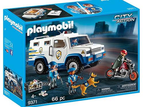 Playmobil 9371 City Action - Police Money Transporter
