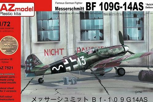 AZ Model - Messerschmitt Bf 109G-14AS 1/72