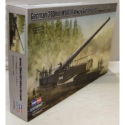 Hobbyboss - German 280mm K5(E) Railway Gun 1/72